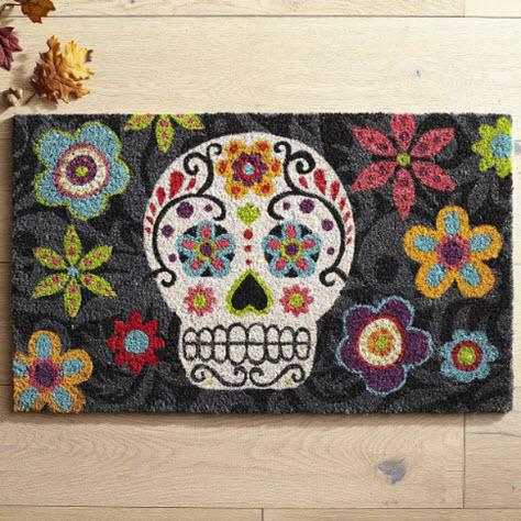 Sugar Skull Doormat from Pier 1 Imports