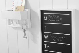 Calendar Chalkboard for your home